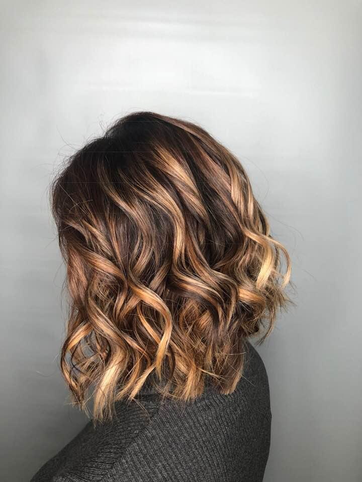 Balyage at hairstyle inn saskatoon