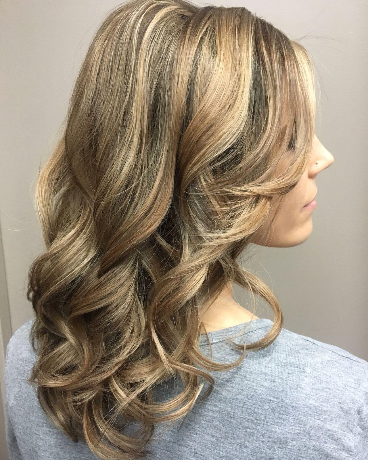 Blonde hair at hairstyle inn saskatoon