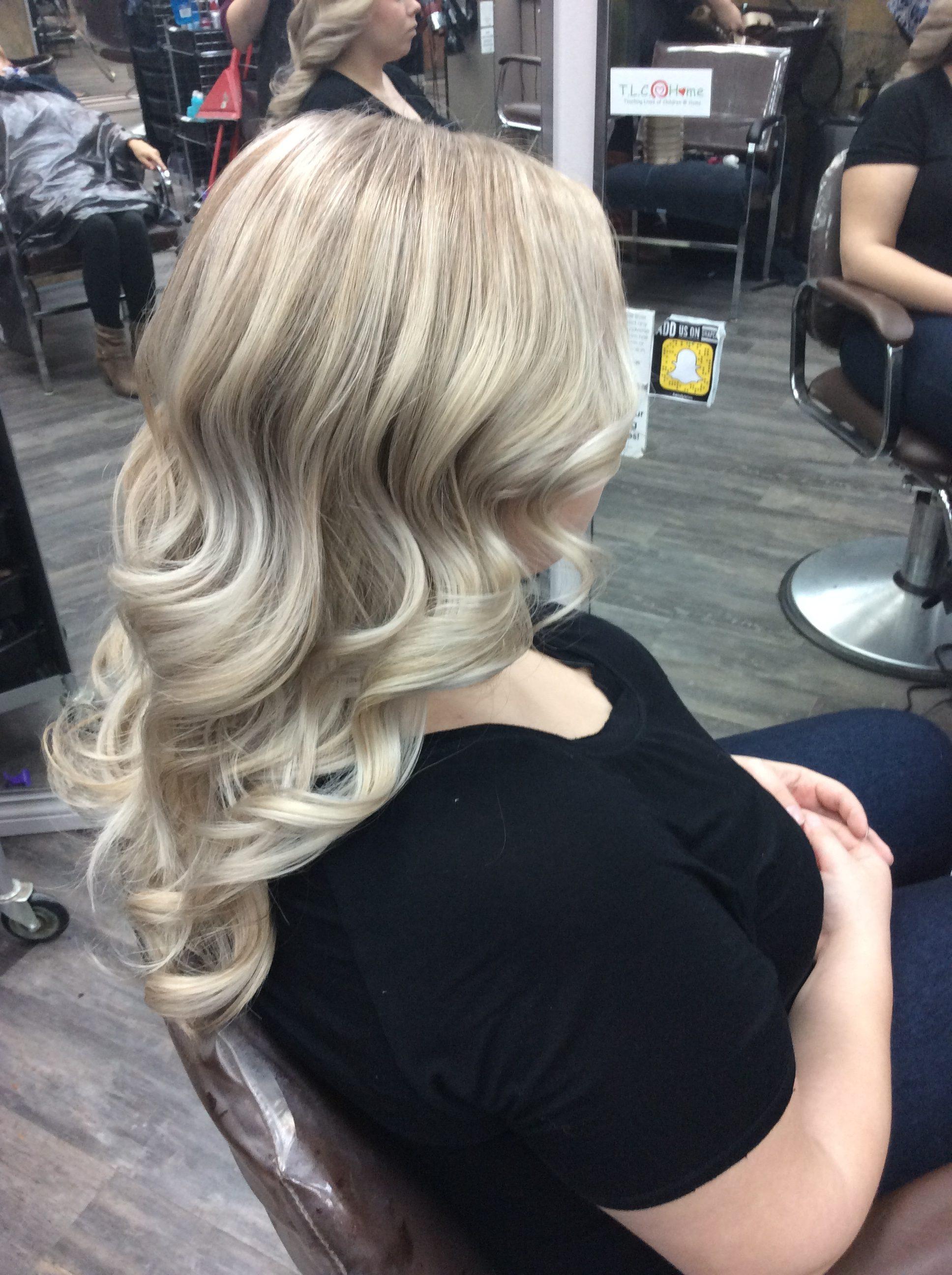 Blong curly hair at hairstyle inn saskatoon