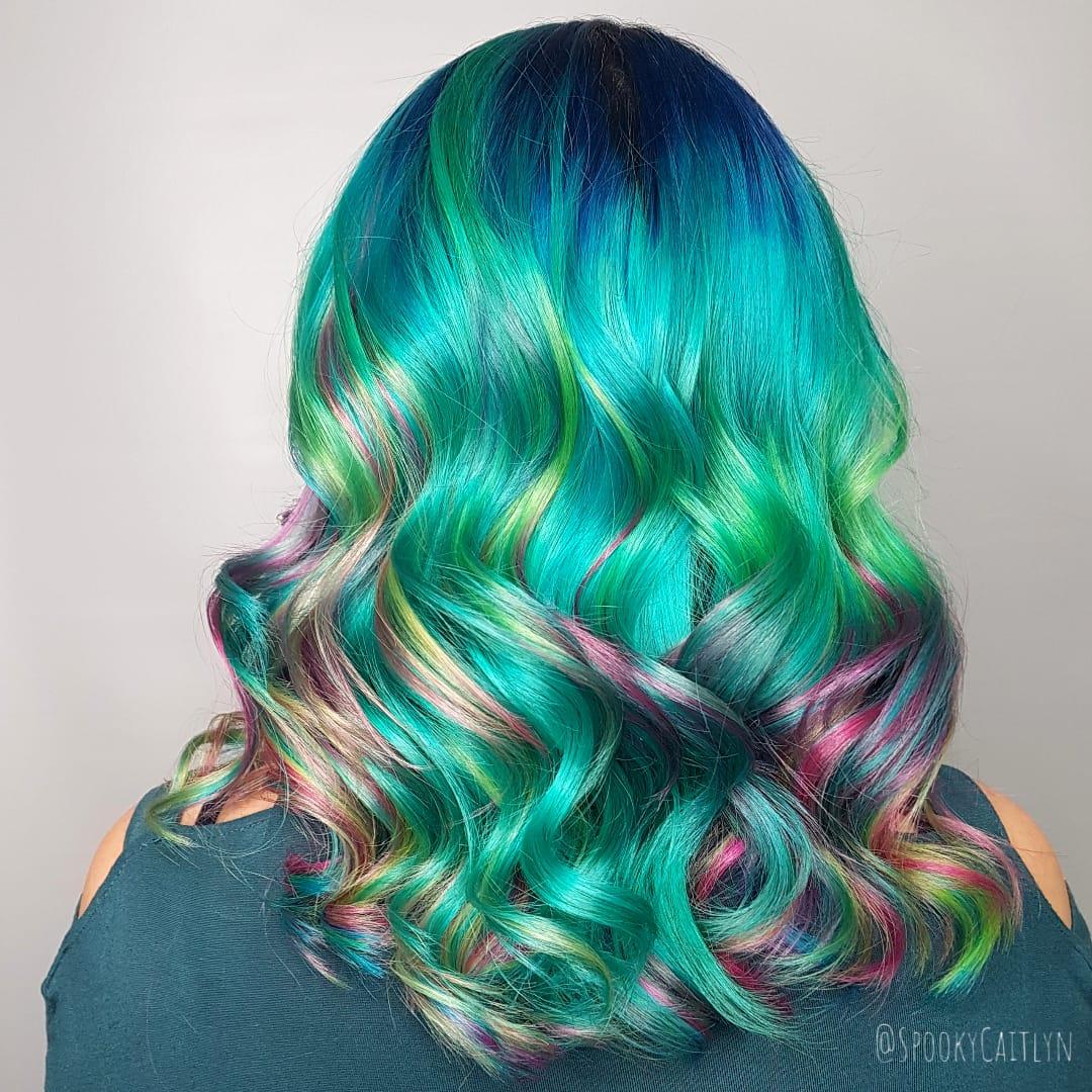 Colour melt hair at hairstyle inn saskatoon