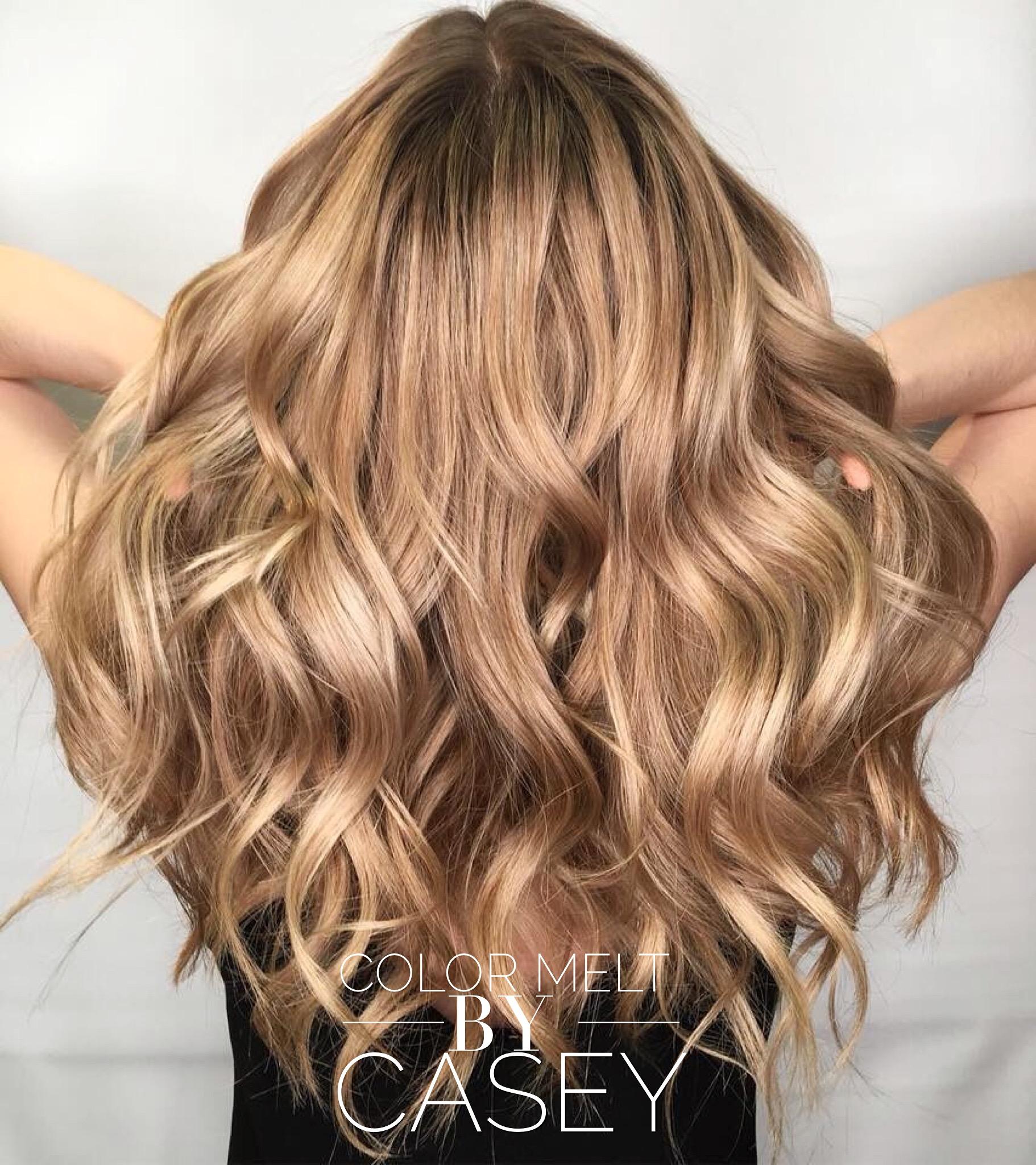 Color melt hair by casey at hairstyle inn saskatoon