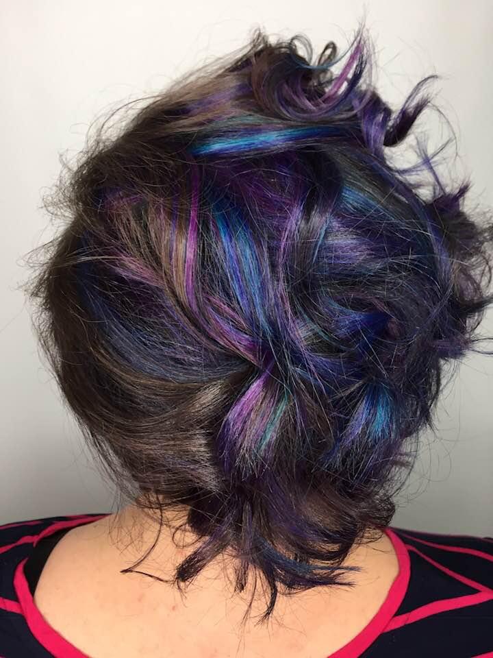Fashion hair color Saskatoon stylist