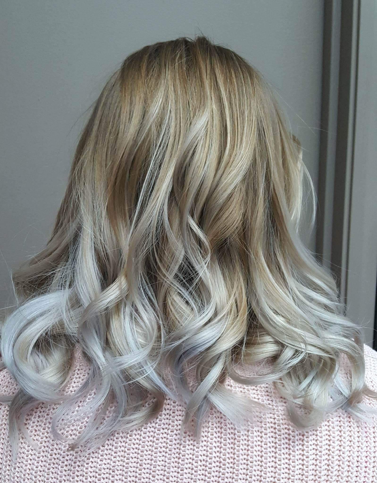 Grey hair colour Saskatoon salon