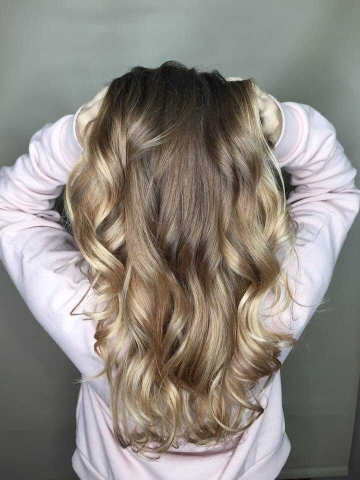 Long wavy hairstyles Saskatoon stylists