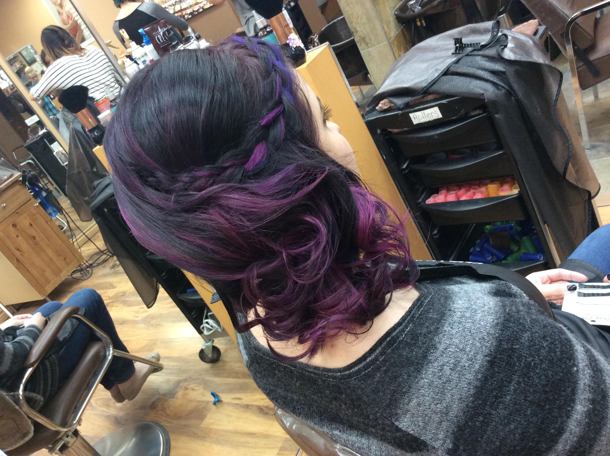 Special event hair style at Hairstyle inn Saskatoon