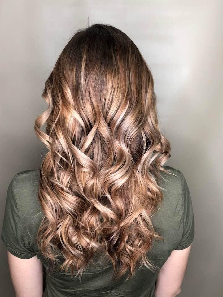 Long wavy hair styles Saskatoon