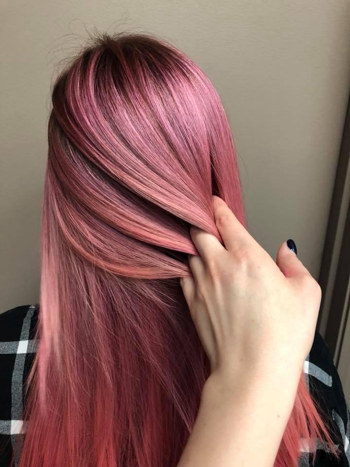 long hair colour Saskatoon