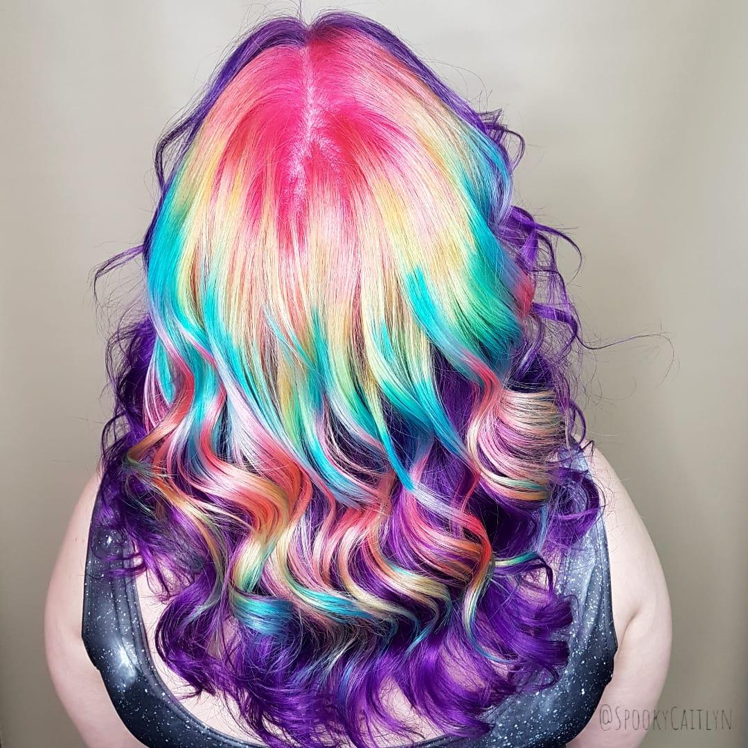Rainbow hair salon Saskatoon