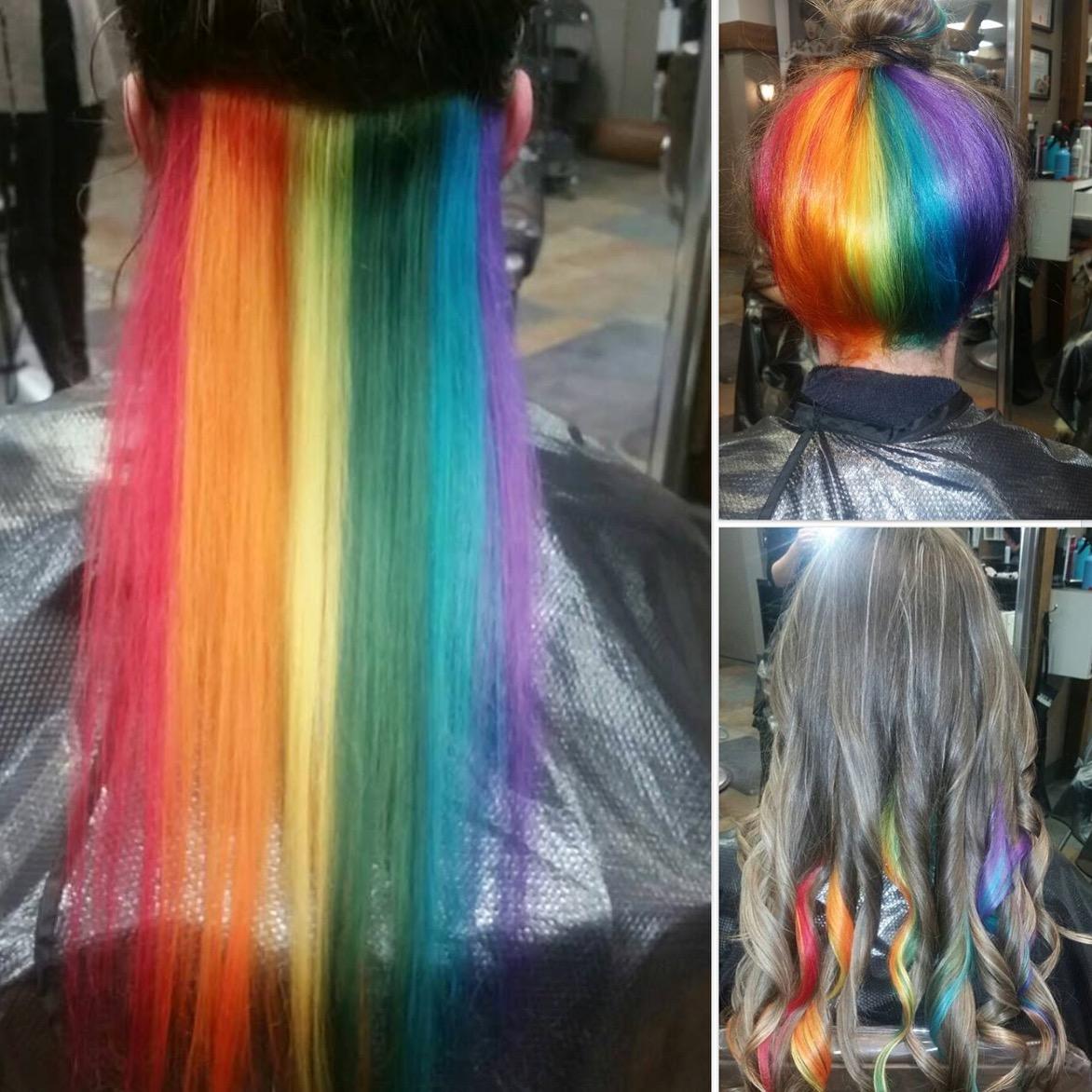 rainbow hair saskatoon
