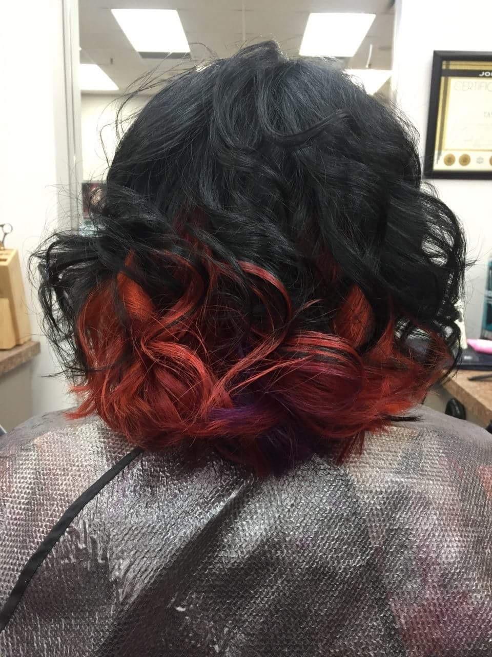 mid length women hair Saskatoon Salon