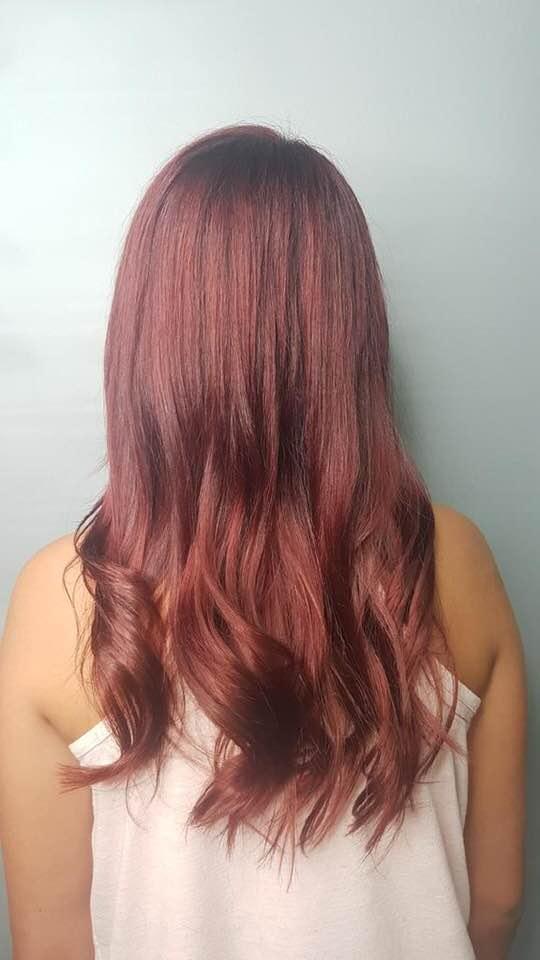 Red long hair Saskatoon