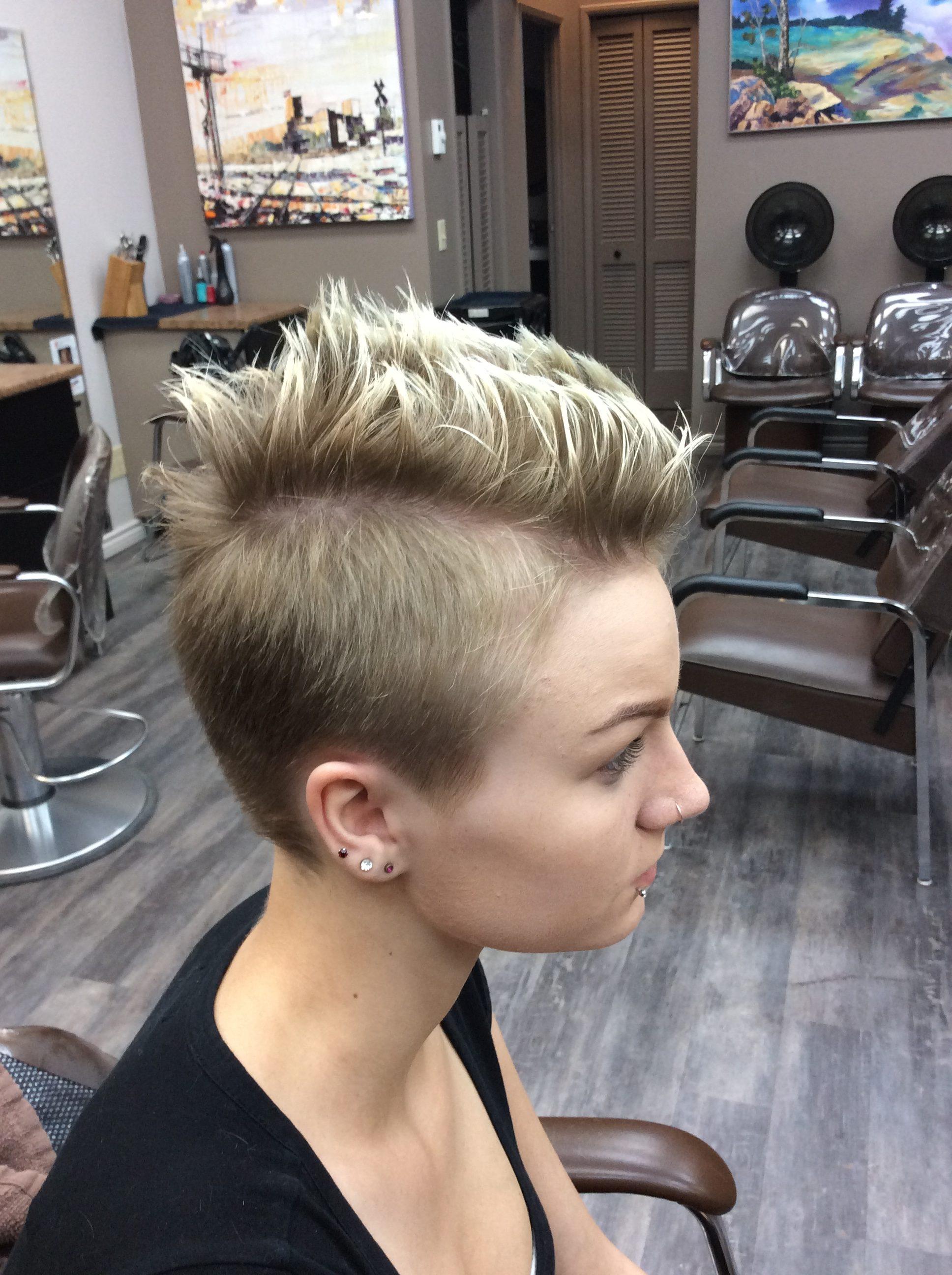 faux hawk Saskatoon hairdressers