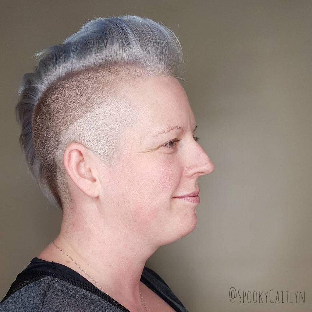 Short hair cut Saskatoon salon